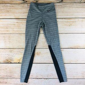 Nike gray high rise leggings sheer Sculpt XS